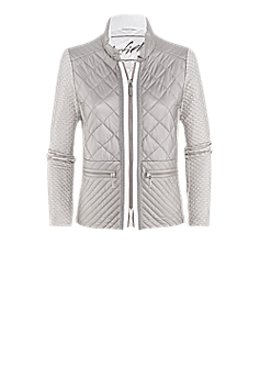 Fiona jacket | Sporty, elegant quilted jacket