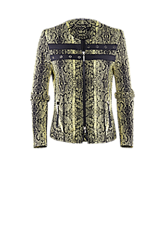 Pan jacket | Jacket in a snake print