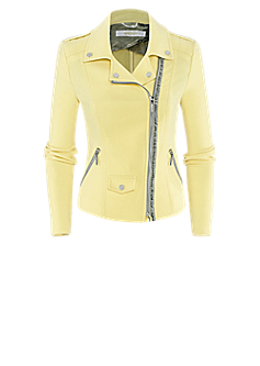Pisa jacket | Biker jacket in yellow