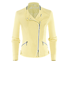 Prefer-jacket | Biker jacket in yellow