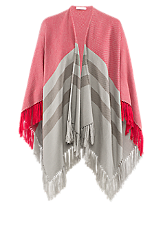 Cape-600 l Cape with fringe