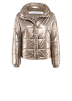 Fenella jacket | Gleaming quilted jacket