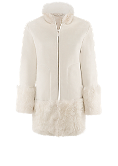 Gale jacket l Lamb fur jacket
