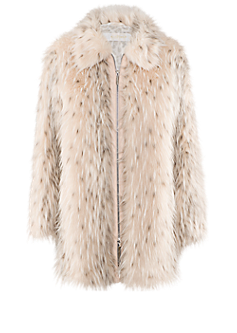 Image coat | Fake fur coat