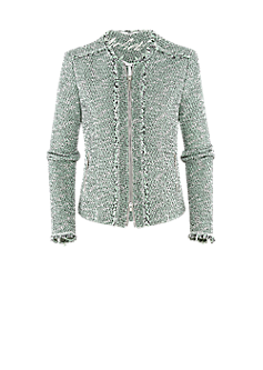 Peace jacket | Bouclé jacket in a boxy cut