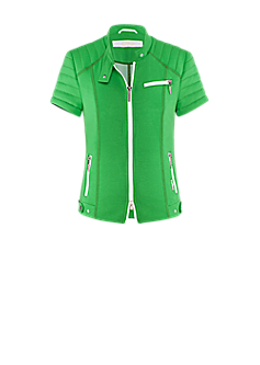 People jacket | Short-sleeved jacket in green