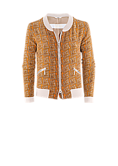 Pilot jacket | Blouson with a graphic print
