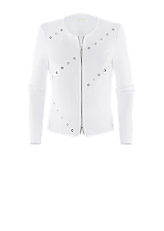 Pull jacket | Short jacket with eyelets