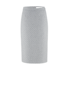 RL-519 | Pencil skirt in embroidery look