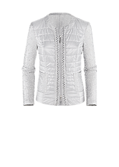 Vaia jacket in a quilted look